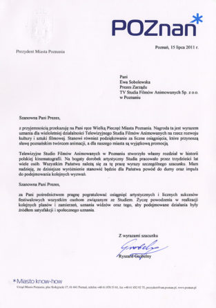 Srebrna Pieczęć Miasta Poznania
