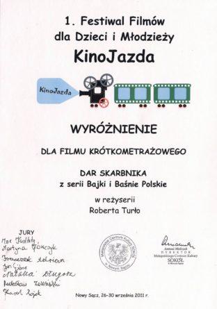 KinoJazda Dar Skarbnika