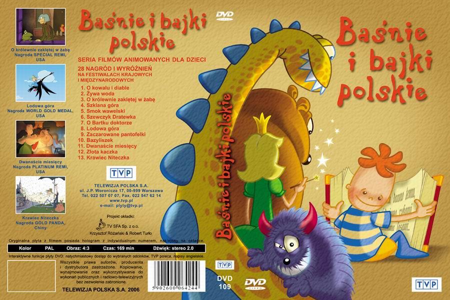 Etui Bajki DVD