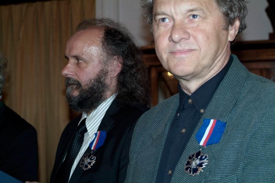 Jacek Adamczak i Zbigniew Kotecki