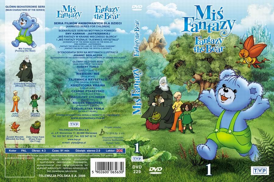 Miś Fantazy okładka DVD