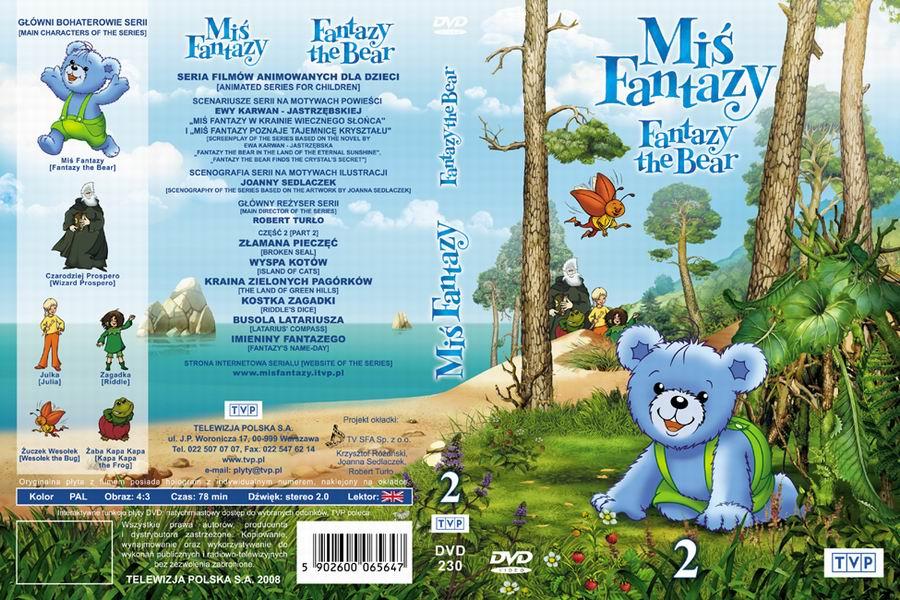 Miś Fantazy okładka DVD 2